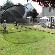 backyard ideas awesome backyard batting cages build backyard