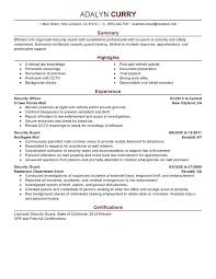 armed security job resume exles security guard resume exle security guard resume sle armed