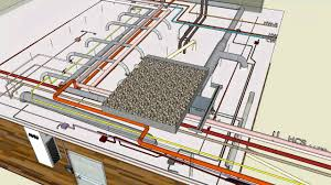 House Plumbing System Mechanical U0026 Electrical Typical 3d Sketchup Youtube