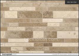 Tile Pattern For Backsplashes Joy Travertine Tile Backsplash