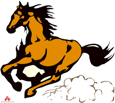 mustang horse running fast horse running free clipart design download