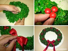 corn flake wreath hi cookery