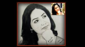 sketch of actress yami gautam desipainters com