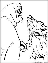 cyclopsmonster coloring page