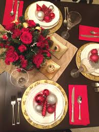 red and silver christmas table settings traditional holiday style fresh by ftd