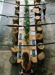 natural christmas table setting ideas