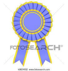 blue and yellow ribbon clip of blue ribbon award k8624932 search clipart