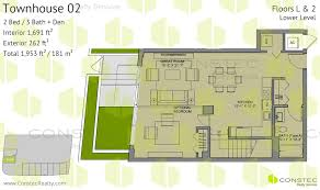 floors plans le parc at brickell floor plans