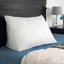 amazon com lavish home down alternate reading wedge pillow home