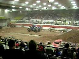 texas monster truck show monster truck show abilene texas 2 6 09 youtube