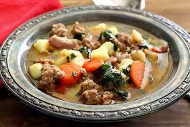 Italian Soup by Italian Sausage U0026 Potato Paleo Soup Recipe Paleo Newbie
