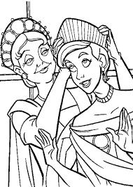disney princess anastasia coloring coloring pages