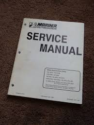 mercury mariner outboard 20a 25a 25b 28 48 55 60 hp service manual