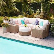 Wicker Patio Furniture Cushions Outdoor Cushions Target