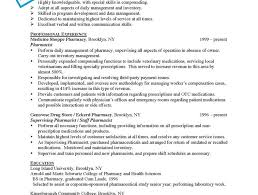 Example Of Special Skills In Resume by Pharmacy Resume Examples Wondrous Design Ideas Sample Pharmacist