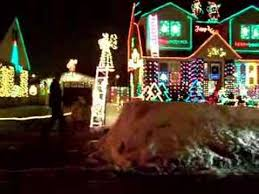 christmas drive by on saskatoon st in london ontario youtube