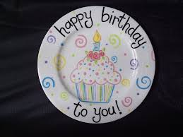 personalized birthday plate 34 ceramic birthday plate animal friend birthday ceramic dinner