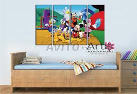 chambre enfant mickey tableau cadre décoratif chambre d enfant mickey mo à vendre à dans