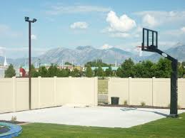 Basketball Court In The Backyard Utah Backyard Playgrounds Trampolines In The Ground Rock Water