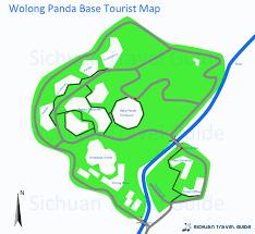 Pandas Map Wolong Panda Reserve Wolong Nature Reserve U0026 Panda Center