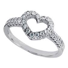 diamonds rings design images European engagement ring open heart design pave diamond ring jpg