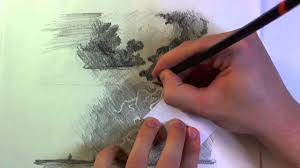Sketching Lightning And Clouds Youtube