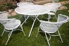 Wrought Iron Patio Furniture Vintage - best vintage metal patio table patio design 382