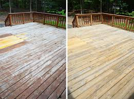 how to strip u0026 clean a deck for stain young house love