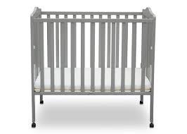 White Mini Crib by Delta Children Portable Mini Crib With Mattress U0026 Reviews Wayfair