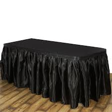 banquet table linens wholesale satin banquet table skirt wedding linens dinner party decorations