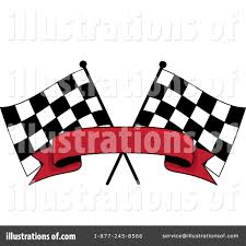 Checkered Flag Eps Racing Flag Clipart 1074610 Illustration By Pams Clipart