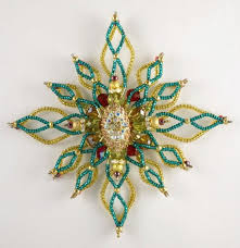 2326 best beaded ornaments images on beaded