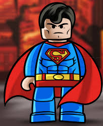 drawn superman cartoon character pencil color drawn