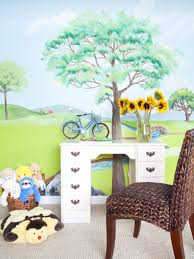 how to paint a wall mural creating a wall mural in a kid u0027s room diy