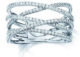daimond ring birks rosée du matin criss cross diamond ring birks