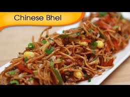 chinese bhel indian fast food recipe vegetarian snack recipe
