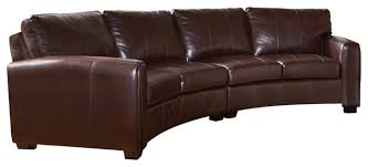 Coaster Leather Sofa Best Curved Leather Sofas Coaster Cornell Bonded Leather Curved