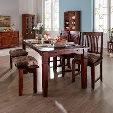 Esszimmer Tisch Deko Esstisch Kolonialstil Erweiterbarer Esszimmertisch In 90x140 Cm