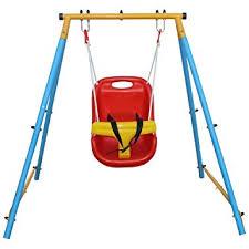 swing set for babies com klb sport baby indoor outdoor garden metal folding