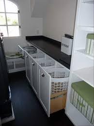 Laundry Hamper Built In Cabinet 17 Best Laundry Closet Ideas Images On Pinterest Laundry