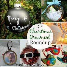 simple diy christmas ornament roundup the frugal farm wife