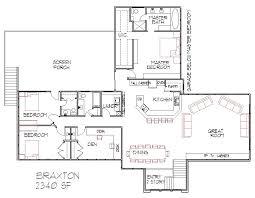 5 Level Split Floor Plans Gorgeous Split Bedroom Floor Plans On Four Bedroom Split Level