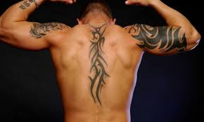 tribal designs for on back with tattoos back