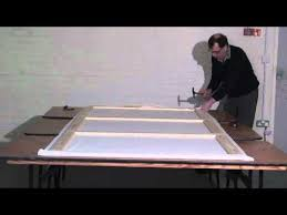 How To Make A Stage Curtain Building A Theatre Scenery Flat Part 2 Of 4 Youtube
