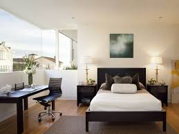 bedroom modern home office with bedroom paint ideas also office