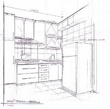 cabinet section drawing portfolio autocad pinterest design