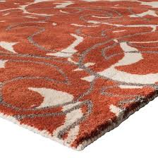 coral gray exploded damask area rug 7 u0027x10 u0027 threshold target