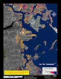 Map Boston Area by Flood Maps Boston Harbor Now Boston Harbor Now