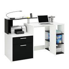 Schreibtisch Weiss 130 Cm Schreibtisch Schwarz Weiß Preisvergleich U2022 Die Besten Angebote