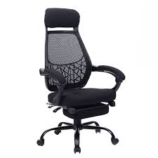 giantex high mesh back reclining office chair computer desk task w